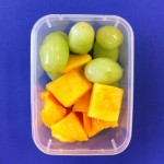 Grapes and mango.