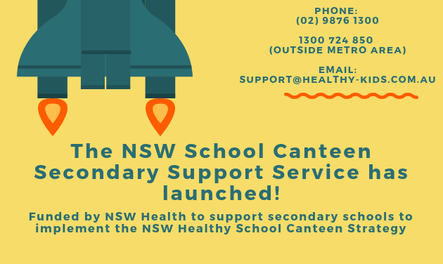 Are you a Canteen in a Secondary School in NSW?