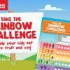 Take the Rainbow Challenge this month at Coles!