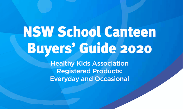 2020 NSW School Canteen Buyers' Guide available now!