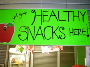 Healthy Snacks Sold Here!