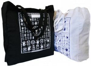 Healthy Fundraising totes