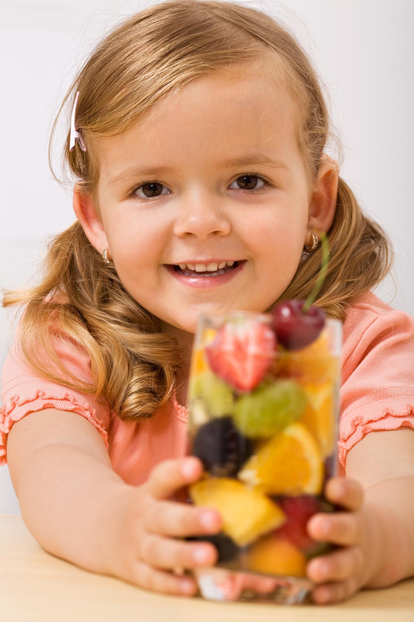 Choosing healthy snacks - Healthy Kids