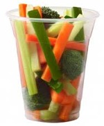 Cup of veggies