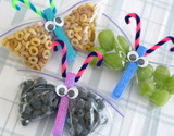 Butterfly snack bags